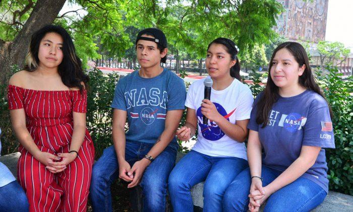 Alumnos de la UNAM ganan concurso organizado por la NASA