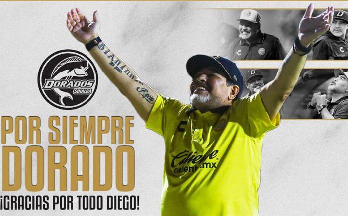Maradona pone fin a su aventura mexicana