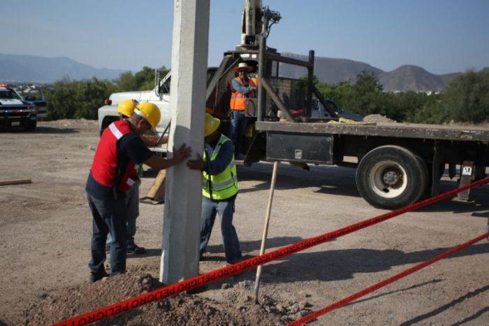 En marcha proyectos de ampliación de red eléctrica en Saltillo