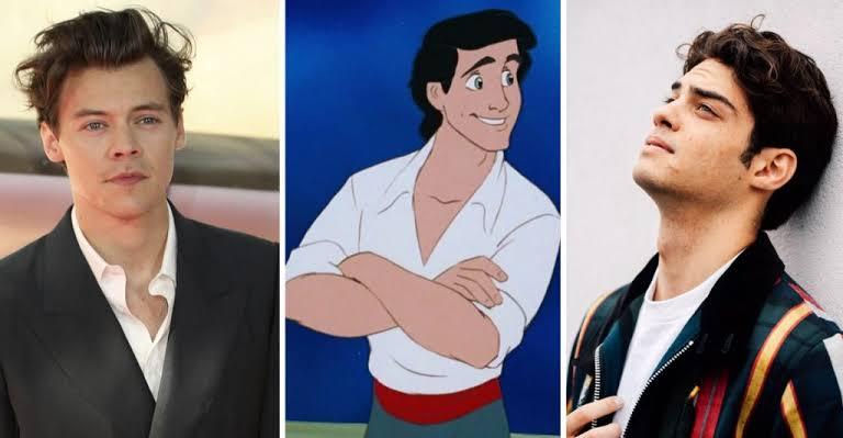 Harry Styles y Noah Centineo compiten por ser el príncipe Eric de La Sirenita