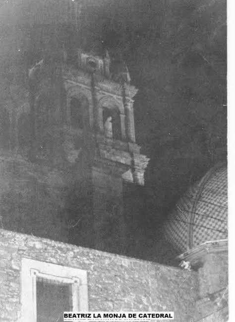 """Leyenda """"La monja de la catedral""""."""