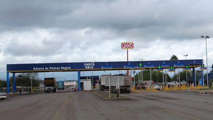 Ineptitud en Garitas Federales kilometro 53, Coahuila
