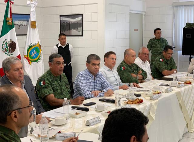 Seguridad es prioridad: Gobernadores de Coahuila y Durango.