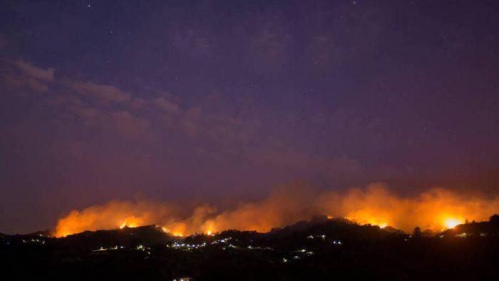 El incendio de Gran Canaria obliga a evacuar a 9.000 personas