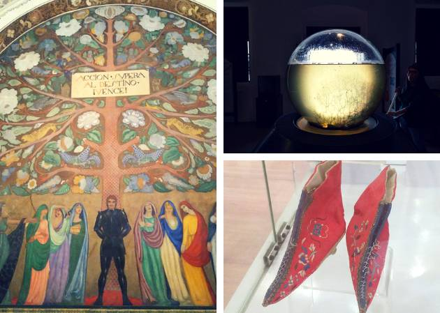 Zapatos chinos y el mar en una bola de cristal: siete tesoros de los museos desconocidos de la CDMX