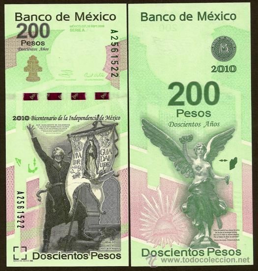 Conoce el nuevo billete de 200 pesos.