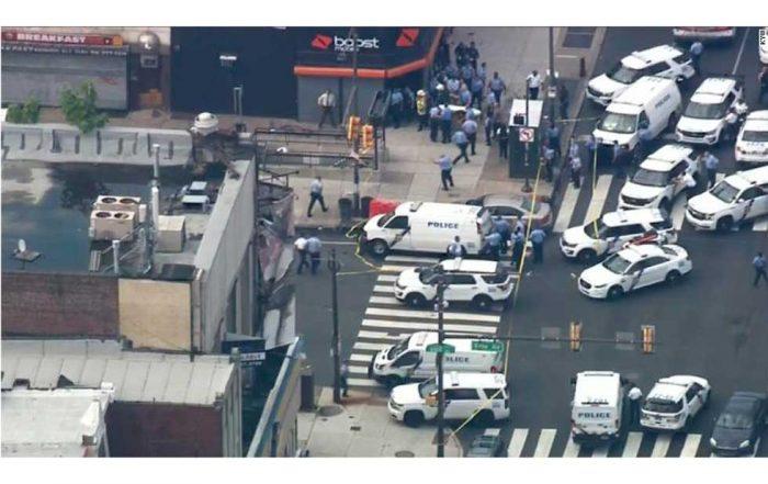 Tiroteo en Filadelfia: al menos 6 policías heridos