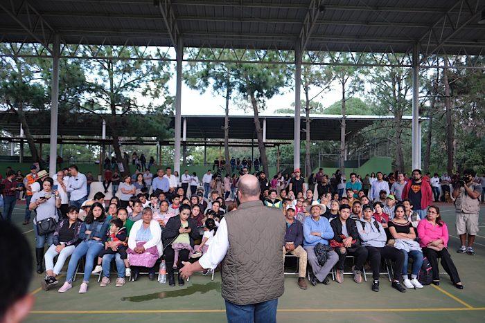 INVIERTE EL GOBERNADOR DE JALISCO ENRIQUE ALFARO  MÁS DE 194 MDP EN SALUD, DEPORTE Y OBRAS PARA MAZAMITLA