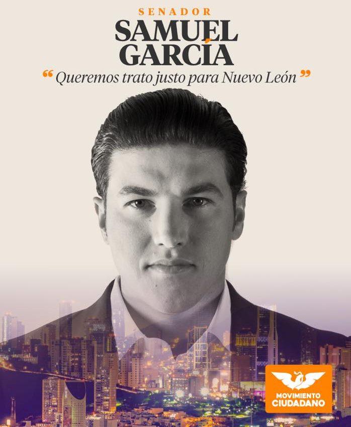 Samuel García anticipa destitución del 'Bronco' en octubre