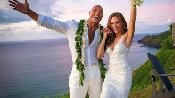 Dwayne Johnson, 'La Roca', se casa con Lauren Hashian en una ceremonia secreta