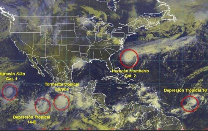 Estados Mexicanos bajo alerta por tormenta Tropical