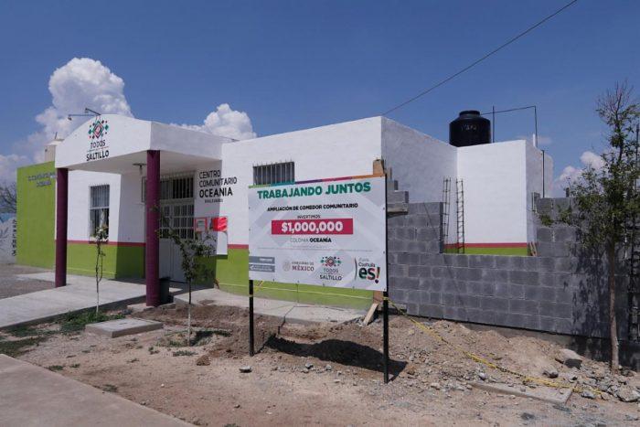 Consolidan proyecto de mejora a la red de Centros Comunitarios