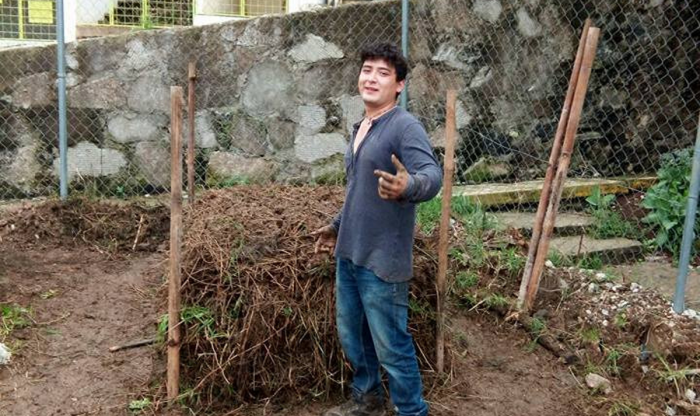 Con huertos Benjamín quitaba espacios a delincuentes; fue asesinado en Xalapa