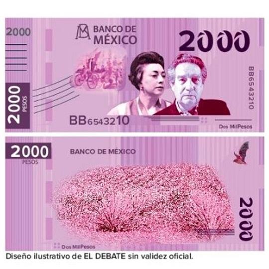 Por Inflación, habrá nuevos billetes de $2000.00 pesos