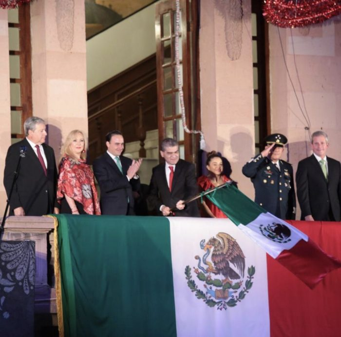 RIQUELME CONMEMORA EL 209 ANIVERSARIO DE LA INDEPENDENCIA DE MÉXICO