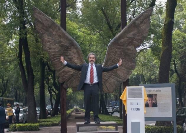 """Jorge Marín: """"Seré el más feliz si 'Alas de México' sirve a la gente para protestar y hacer valer sus derechos"""""""