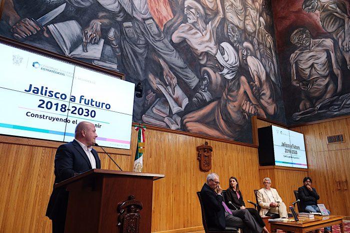 PARTICIPA GOBERNADOR ENRIQUE ALFARO EN PRESENTACIÓN DEL ESTUDIO JALISCO A FUTURO 2018-2030
