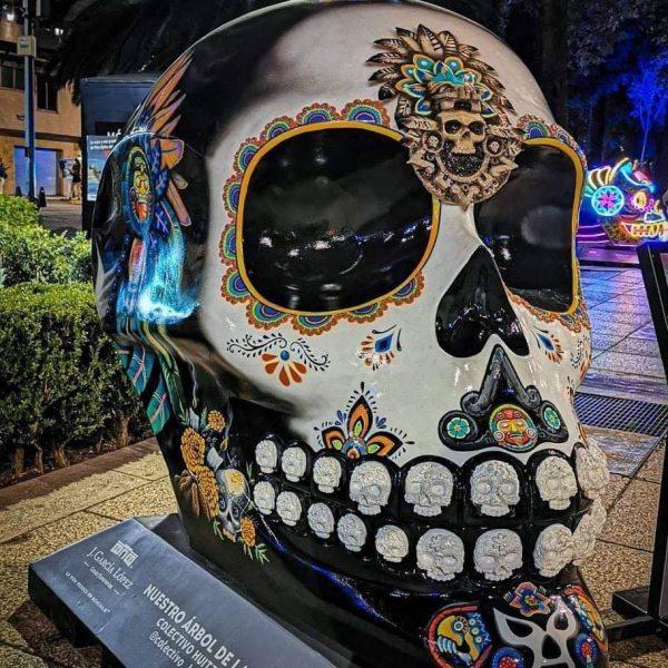 Andas en CDMX? caele a la exposición de Catrinas en Paseo  Reforma..¡¡¡