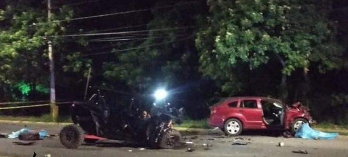 """Muere pareja en accidente donde sale herido el vocalista de """"la banda que hacía falta"""""""