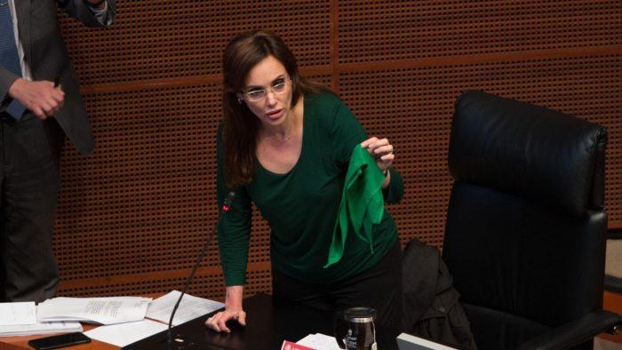 Lilly Téllez: legisladores de Morena 'traicionan al pueblo' por aborto