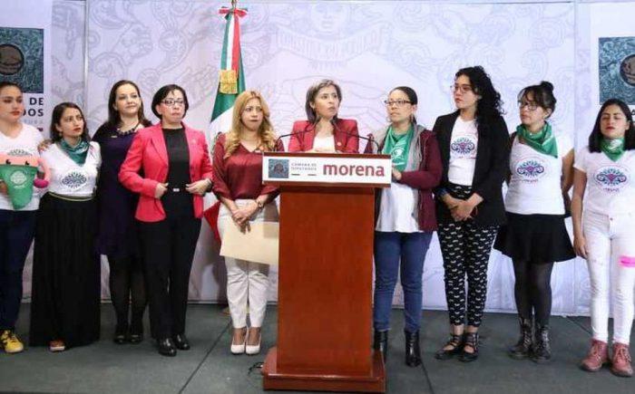Morena impulsará la despenalización del aborto en todo el país