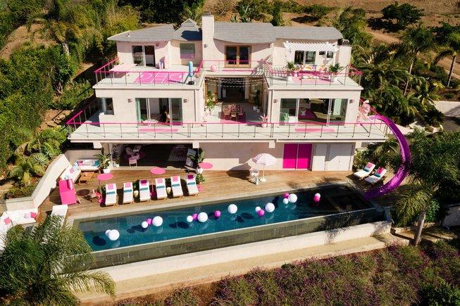 La casa de Barbie en Malibú se alquila en Airbnb