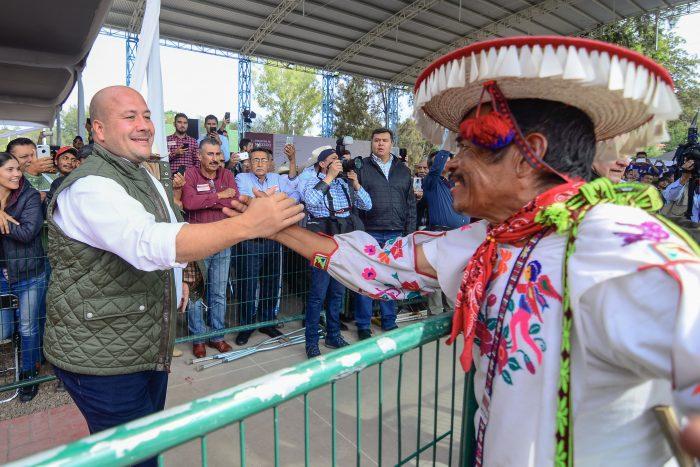REFRENDA ENRIQUE ALFARO SU COMPROMISO DE TRABAJAR CON LOS GOBIERNOS TRADICIONALES DEL NORTE DE JALISCO
