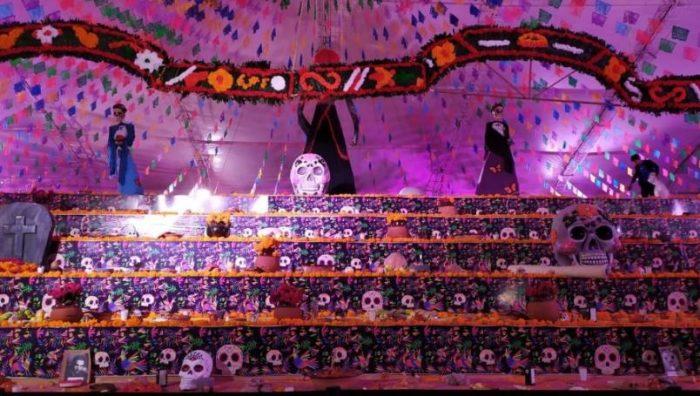 Hidalgo gana el Récord Guinness por el altar de muertos más grande del mundo