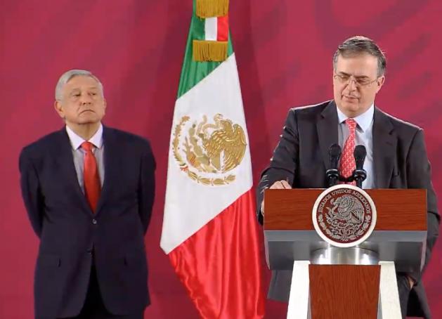 Gobierno de México considera que hubo golpe de Estado en Bolivia: Ebrard