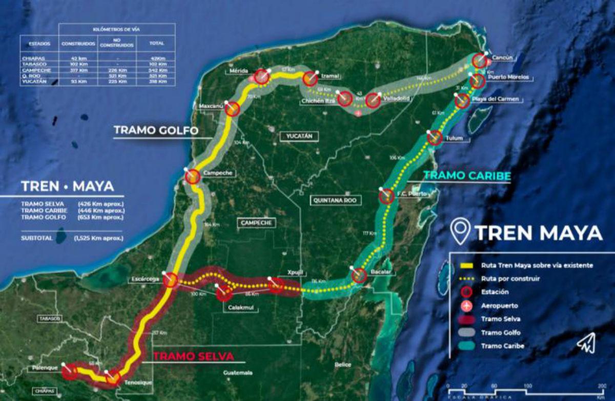 """Tren Maya tiene """"potencial de ser un desastre"""""""
