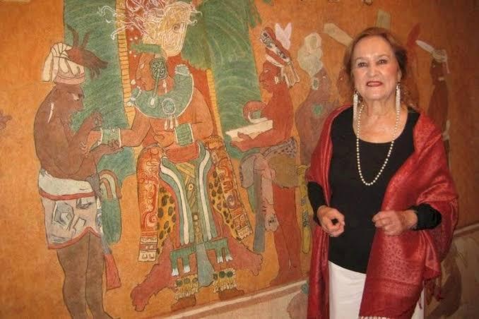 Muere la muralista  Rina Lazo