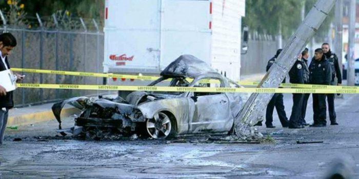 Lanzan bombas molotov al auto de alcalde suplente de Amacuzac, Morelos