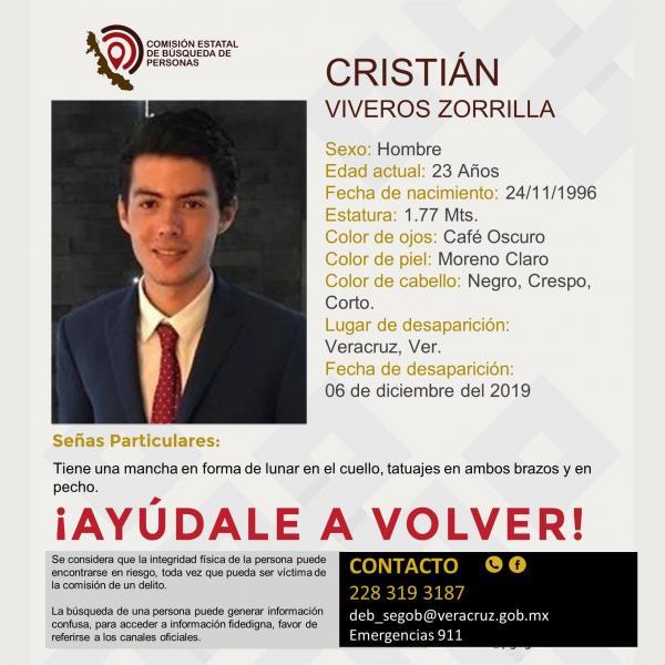 Localizan con vida a Astrid Carolina y a David en Veracruz; Cristian sigue desaparecido
