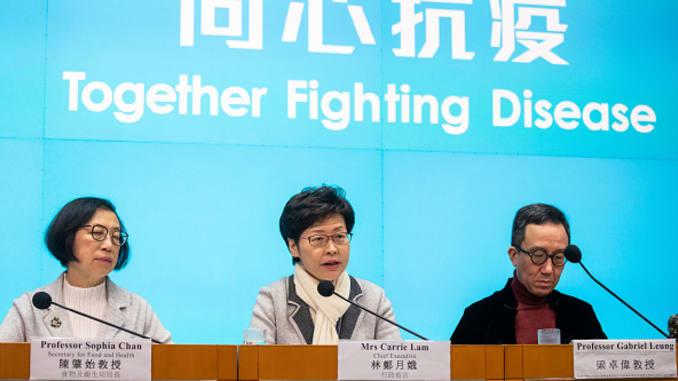 Hong Kong declara la emergencia por el brote del coronavirus
