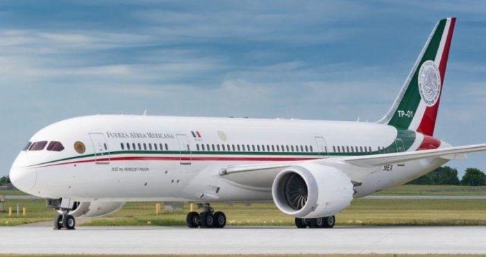 Avión presidencial regresará a México