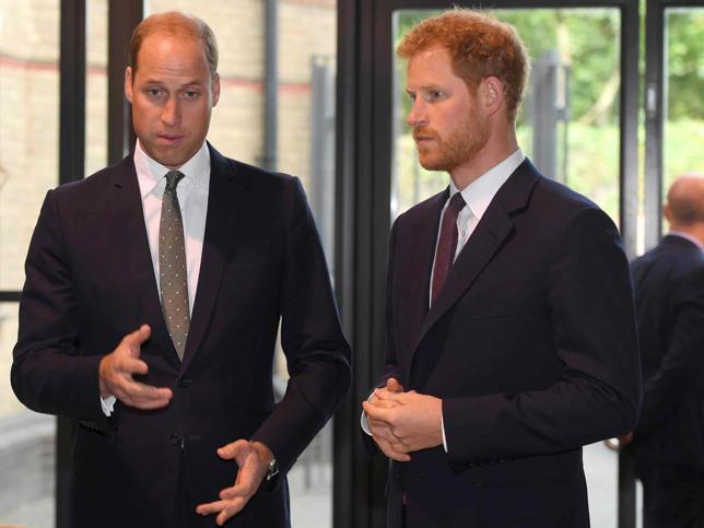 El 'divorcio' de los hijos de Diana de Gales: Guillermo de Inglaterra ya camina solo