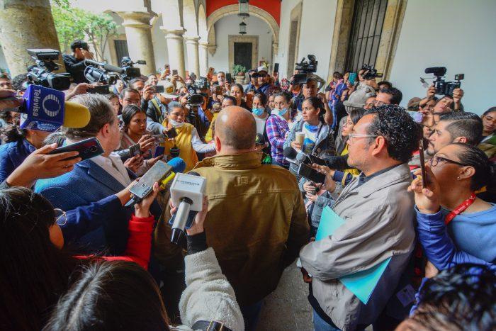 ANUNCIA ENRIQUE ALFARO RECURSOS ESTATALES PARA COMPRA EMERGENTE DE MEDICAMENTOS CONTRA EL CÁNCER INFANTIL