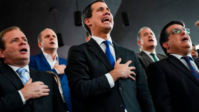 La oposición denuncia el fraude del chavismo que arrebató a Juan Guaidó la Asamblea Nacional