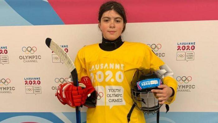 Consigue mexicana Luisa Wilson histórica medalla de oro en hockey sobre hielo