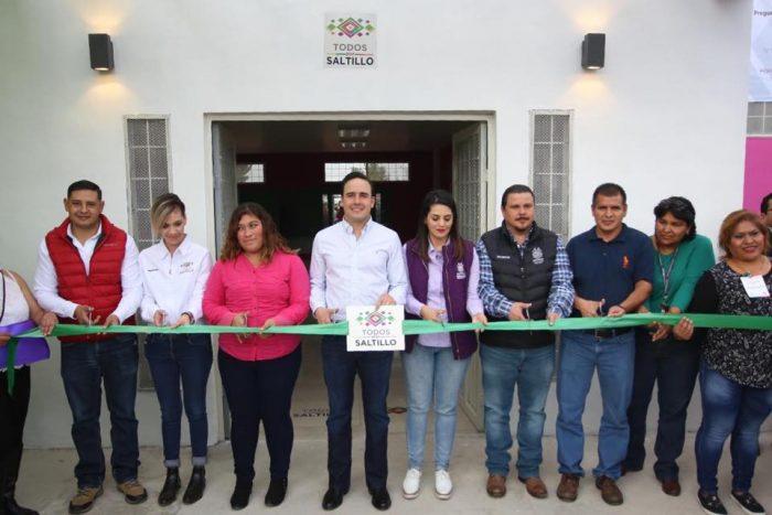Se amplía y mejora red de Centros Comunitarios en Saltillo