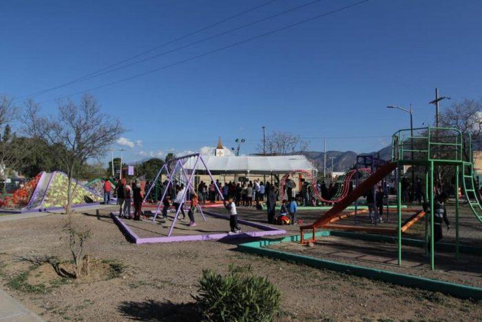 Transforma Municipio plaza de la colonia Zapalinamé
