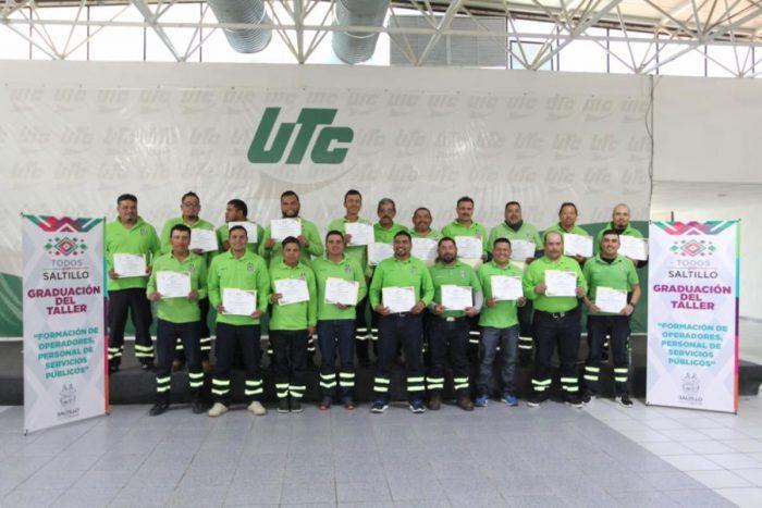Se capacitan empleados de la Dirección de Servicios Públicos del Municipio