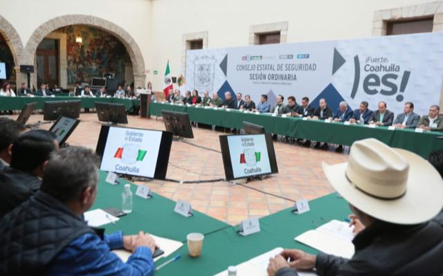 PRESIDE GOBERNADOR DE COAHUILA CONSEJOS ESTATALES DE SEGURIDAD Y DE PROTECCIÓN CIVIL
