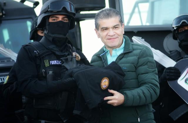 MIGUEL RIQUELME REFRENDA COMPROMISO CON LA SEGURIDAD
