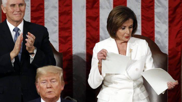 El discurso del estado de la Unión exhibe la hostilidad política en EE UU