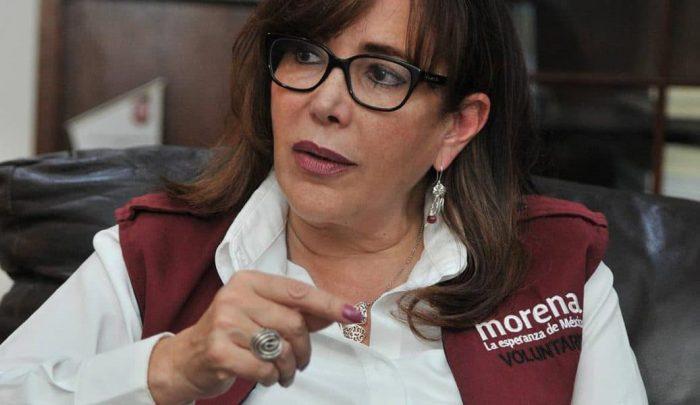 Viola ley electoral Yeidckol Polevnsky en Coahuila (Video)
