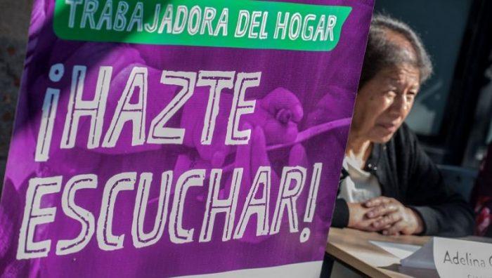 Trabajadoras del hogar se unen a paro nacional de mujeres el 9 de marzo