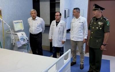 Ejército y Marina a la cabeza de 10 hospitales para enfrentar pandemia de coronavirus