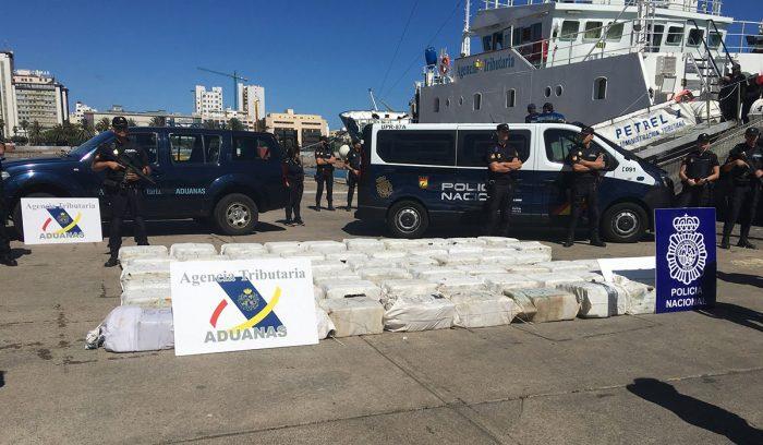 El narcovelero de los 65 millones de euros en cocaína