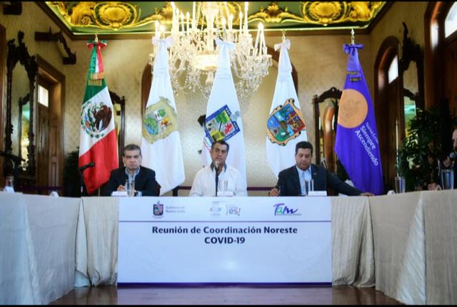 ACUERDAN ACCIONES CONJUNTAS COAHUILA, NUEVO LEÓN Y TAMAULIPAS ANTE LA CONTINGENCIA DEL COVID 19